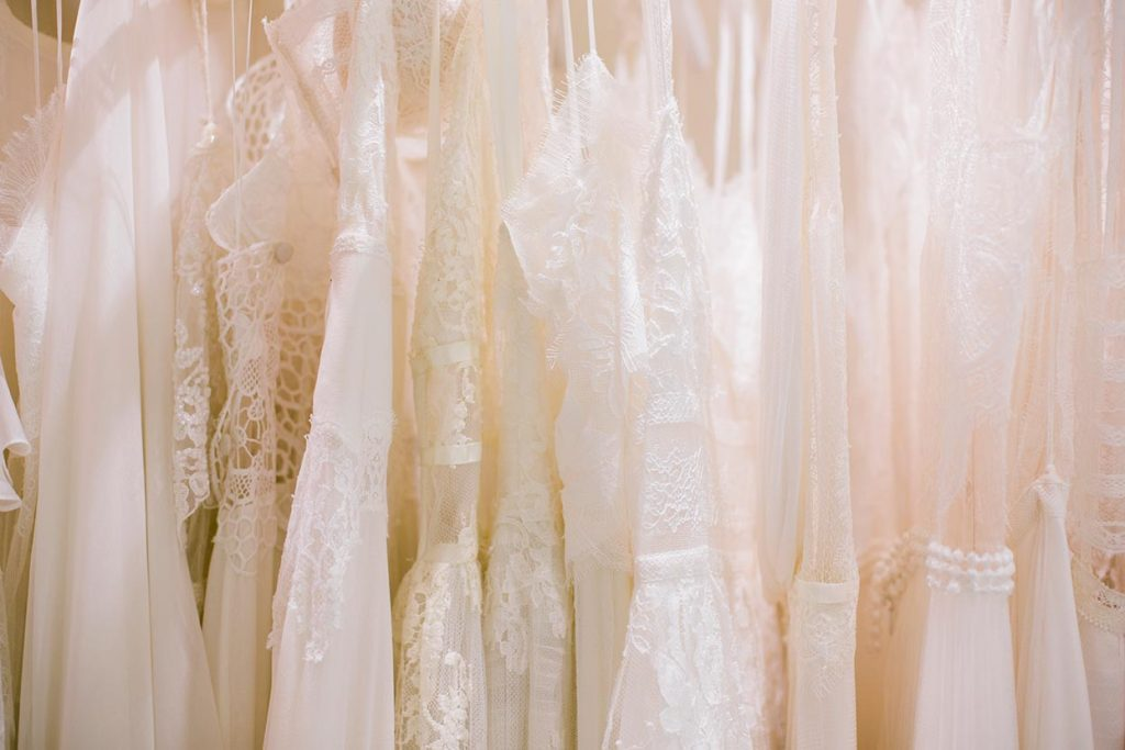 Ethereal unique wedding dresses by Vasia Tzotzopoulou