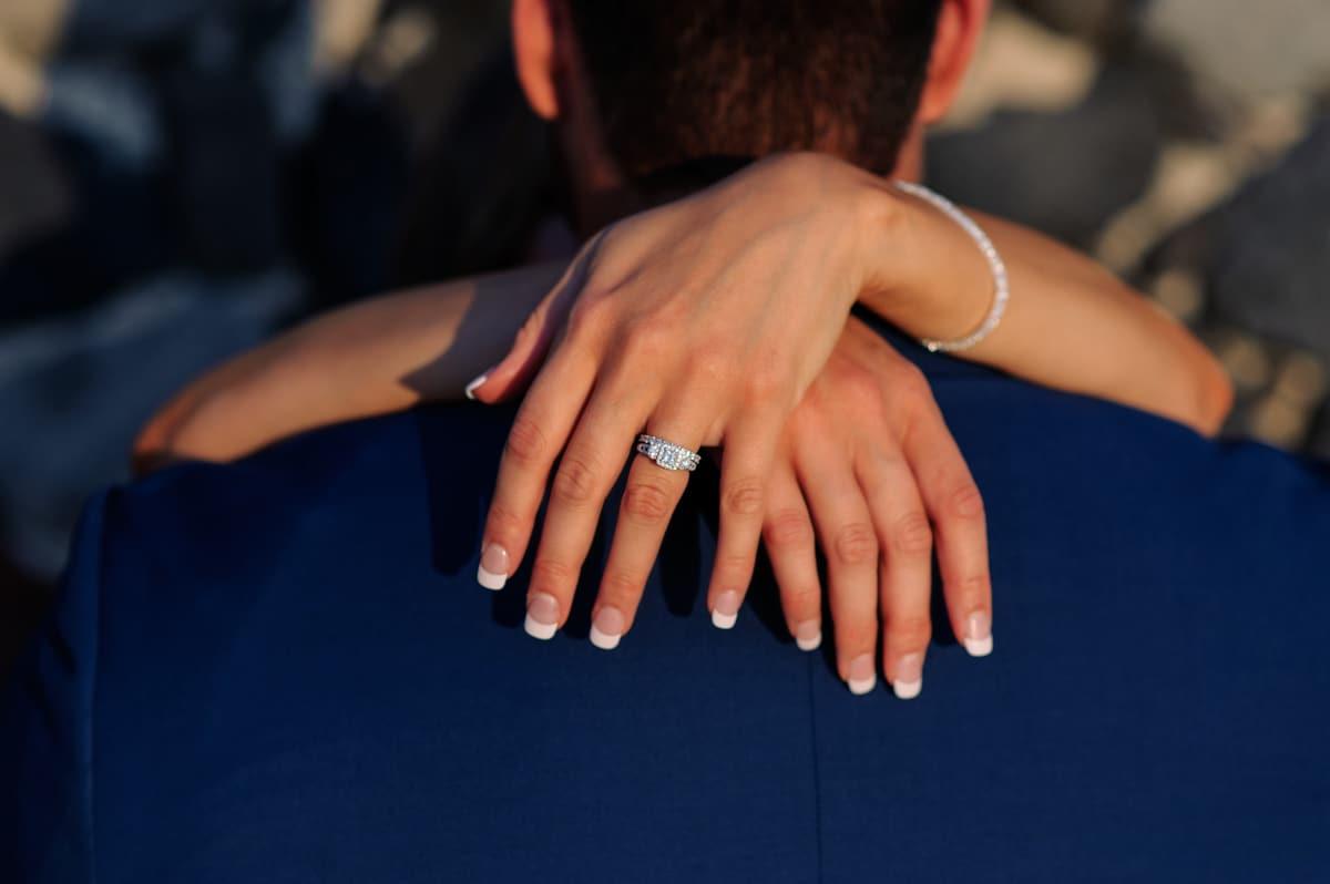 Ρομαντικός γάμος elopement στη Σαντορίνη