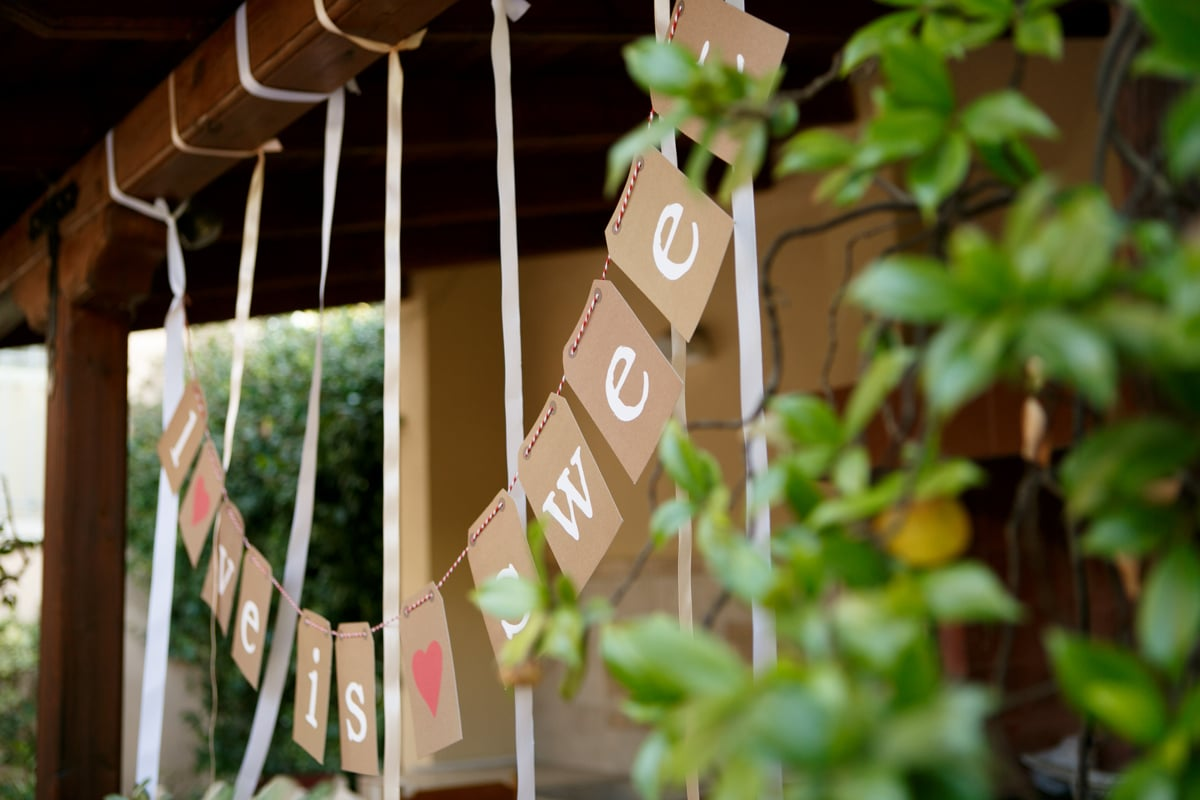 Ideas for wedding signs
