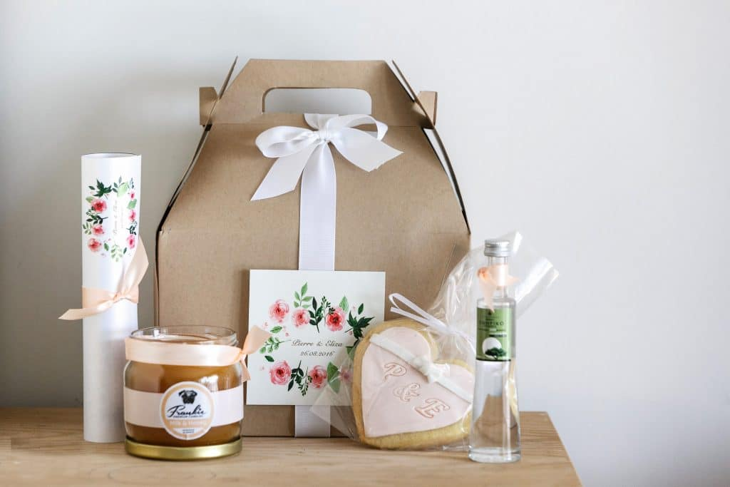 Original ideas for wedding guests' gifts
