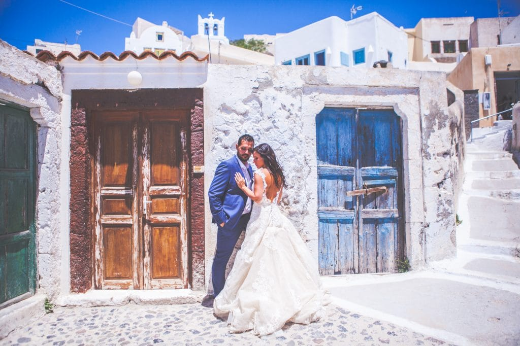 Next day photoshoot in Santorini Aliki Koronaiou