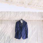 Μπλε κοστούμι γαμπρού