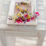 Ιδέες για boho λουλουδένια νυφικά στεφάνια