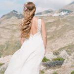 Ιδέες για simple chic boho νυφικό Celia Dragouni
