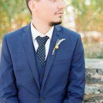 Ιδέες για μπλε κοστούμι για το γαμπρό
