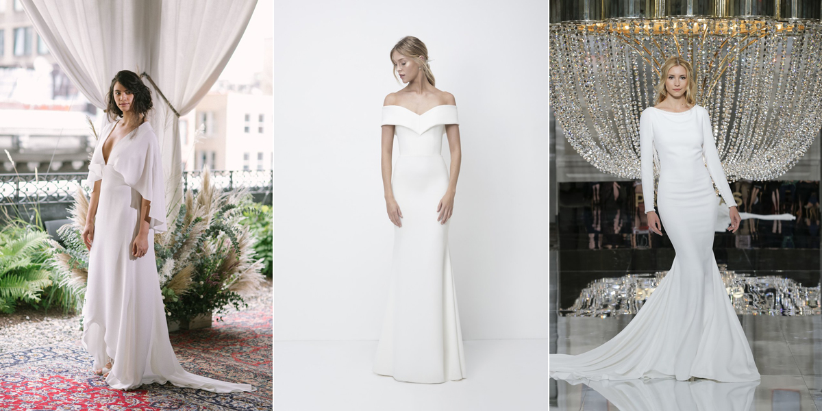 Wedding dresses trends Bridal Week 2018