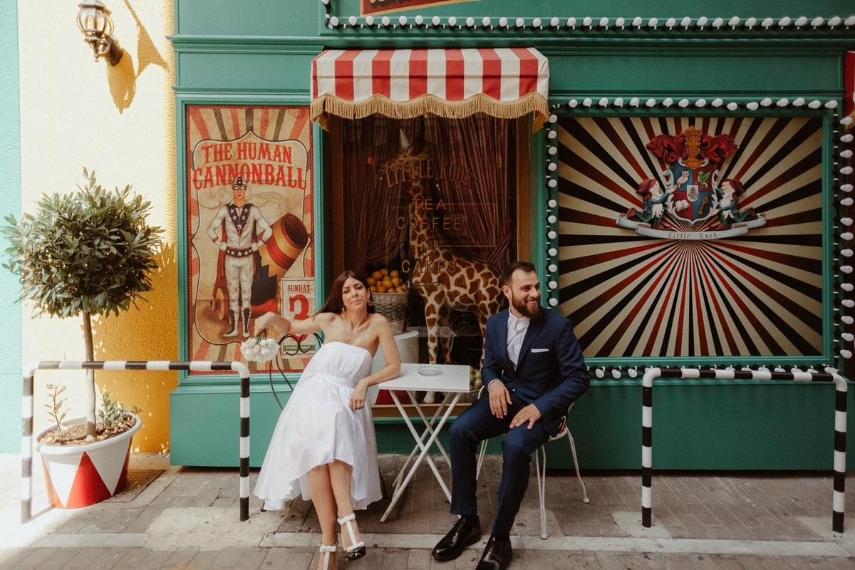 Ιδέες για πρωτότυπες φωτογραφίες γάμου στην Αθήνα