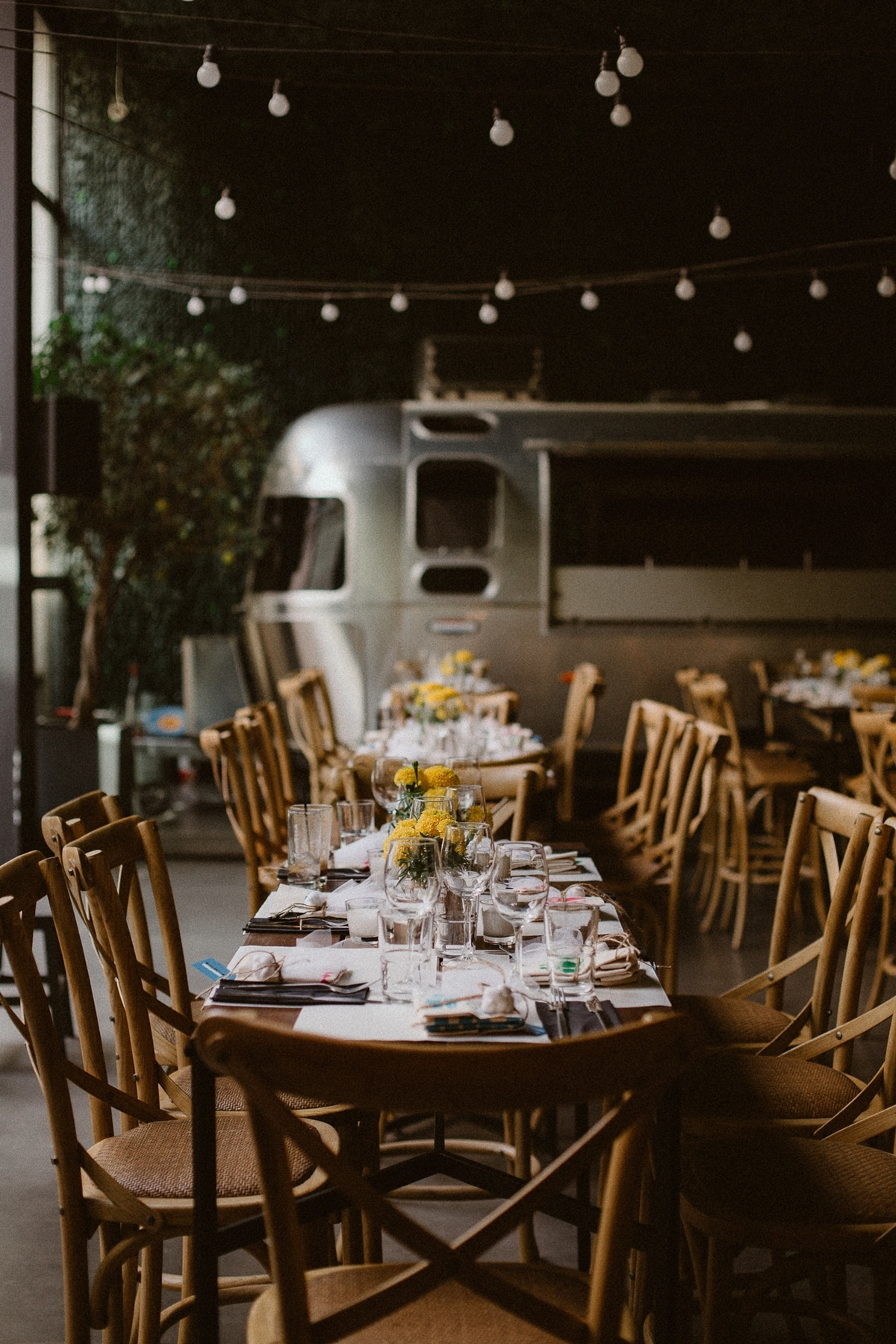 Ideas for urban rustic wedding decoration