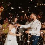 Κονφετί γάμου ιδέες για πρώτο χορό