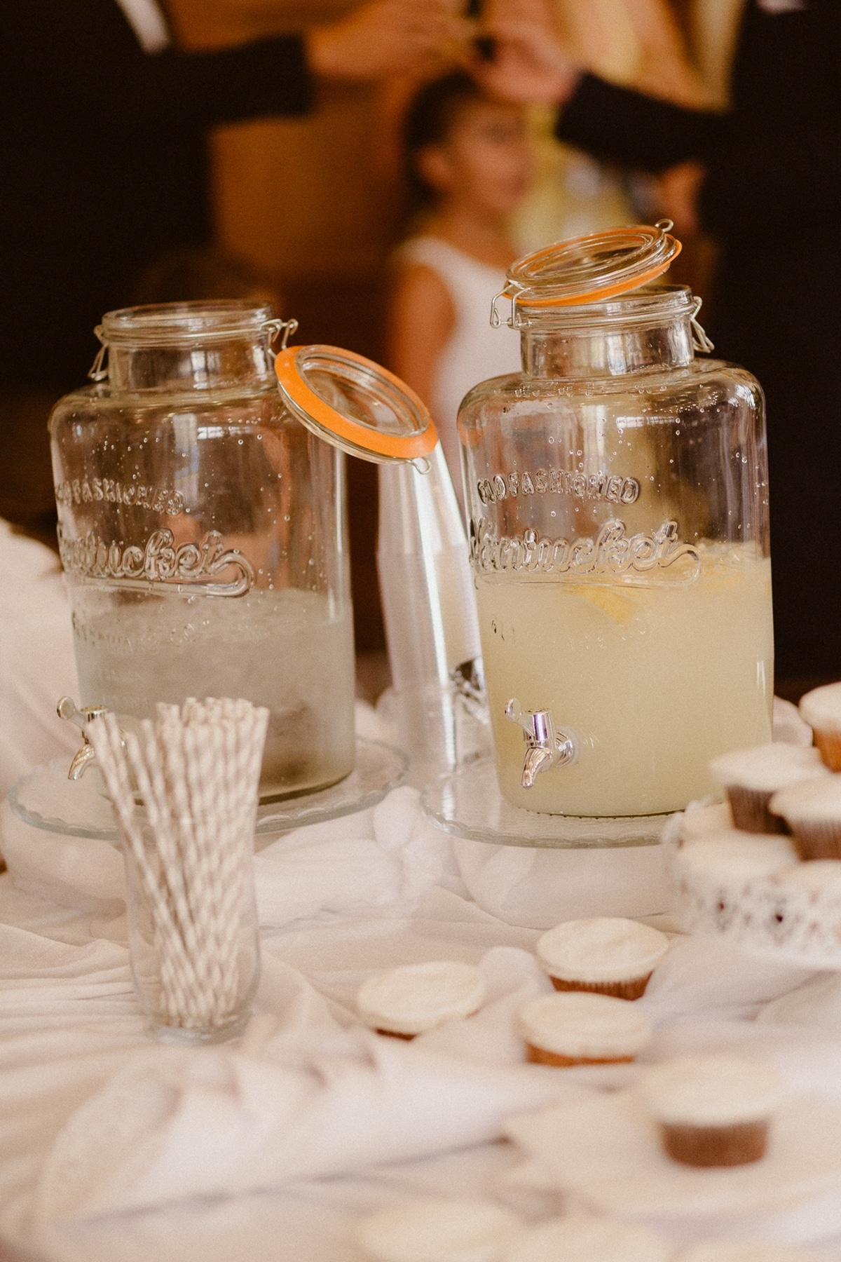 Ideas for wedding guests' drinks