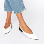 Flat νυφικά παπούτσια Asos