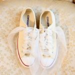 Flat νυφικά παπούτσια Converse