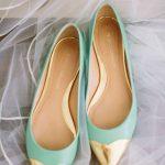 Flat νυφικά παπούτσια rebecca minkoff