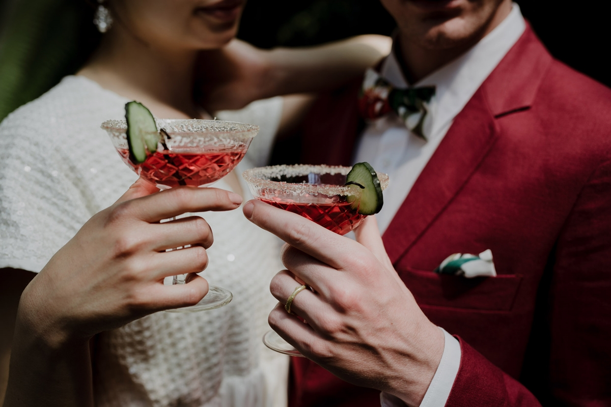 Ιδέες για cocktails γάμου