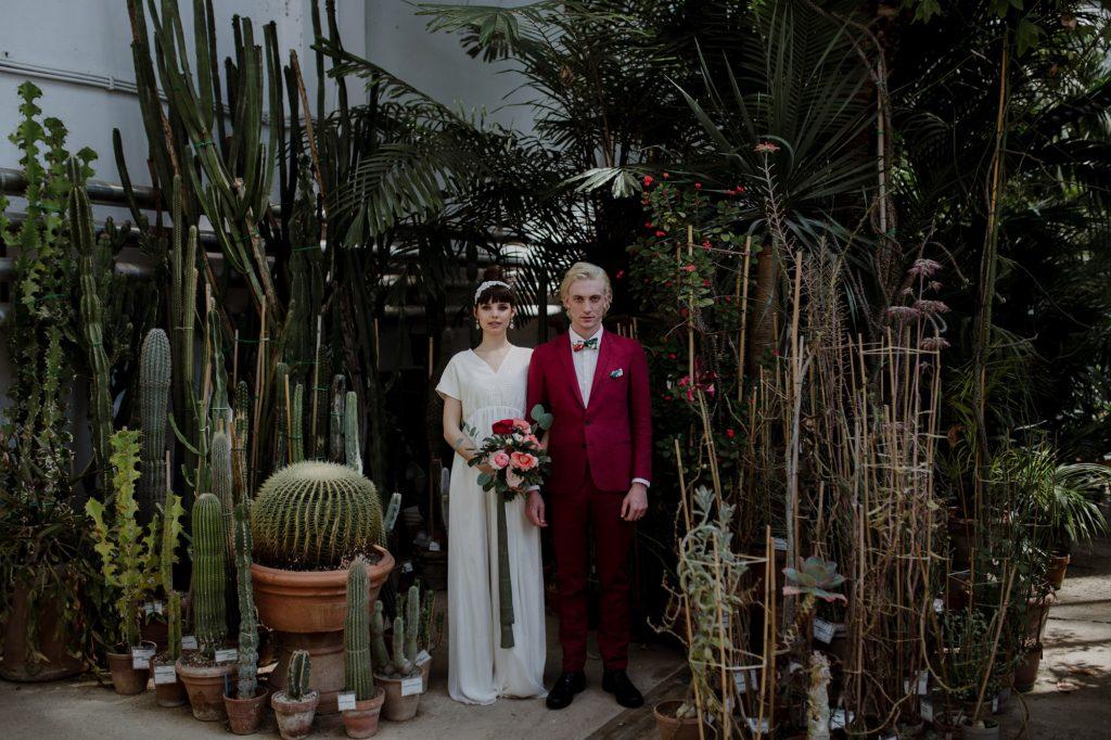 Φωτογράφιση γάμου σε κήπο