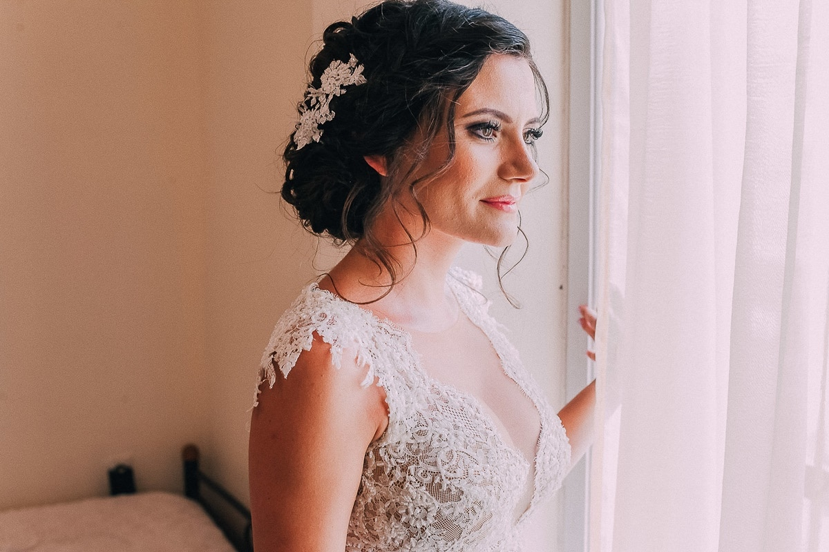 Ideas for bridal hairstyling with braids