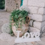 Wedding wooden LOVE sign