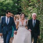 Άφιξη της νύφης στην εκκλησία