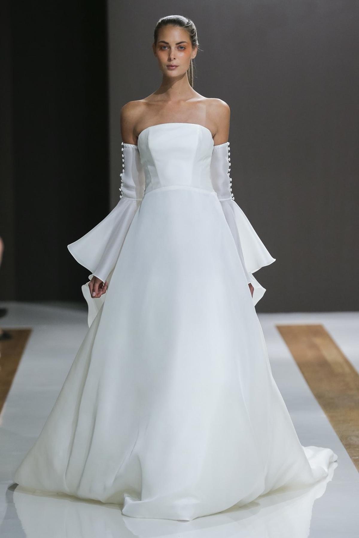 10 wedding dress trends of Bridal Fashion Week | The Wedding Tales