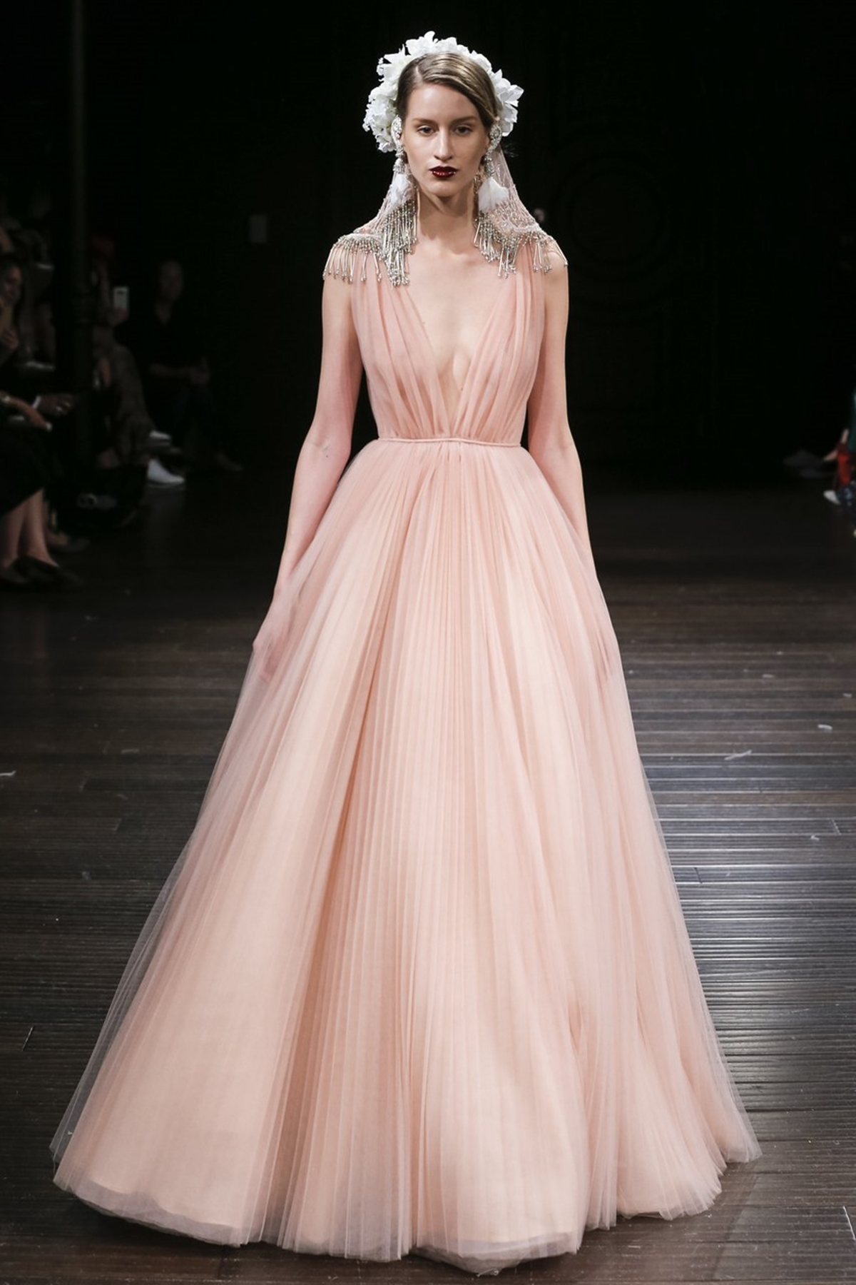 Our favorite blush pink wedding dresses | The Wedding Tales