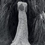 Νυφικό φόρεμα με guipure δαντέλα Christos Costarellos 2018
