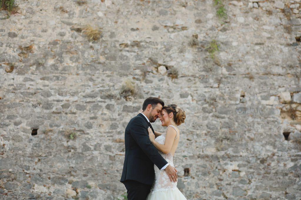 Wedding at a castle Greece Labrini Sotiriou