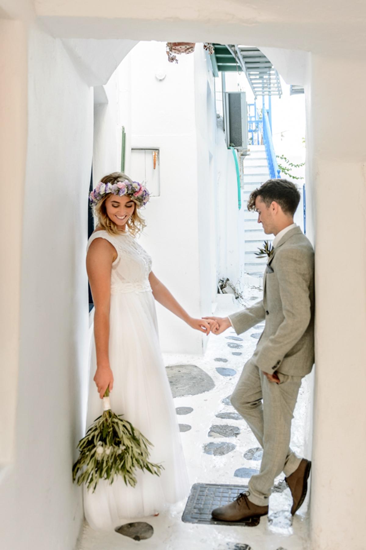 Γάμος στη Μύκονο