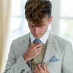 Ιδέες για γκρι μπεζ κοστούμι γαμπρού