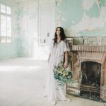 Boho inspirational shoot in an abandoned hospital