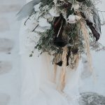 Bridal fashion shoot in Mykonos with Vasia Tzotzopoulou wedding dress