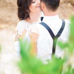 Next day φωτογράφιση στο δάσος με νυφικό Made Bride
