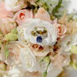 Μονόπετρο δαχτυλίδι με μπλε πέτρα