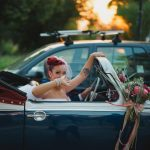 Pin up vintage themed wedding in Athens