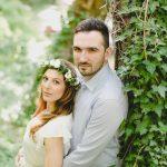 Ρομαντική pre wedding engagement φωτογράφιση στο δάσος Kosmas Chris