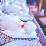 Ρομαντική μομπονιέρα γάμου με τούλι
