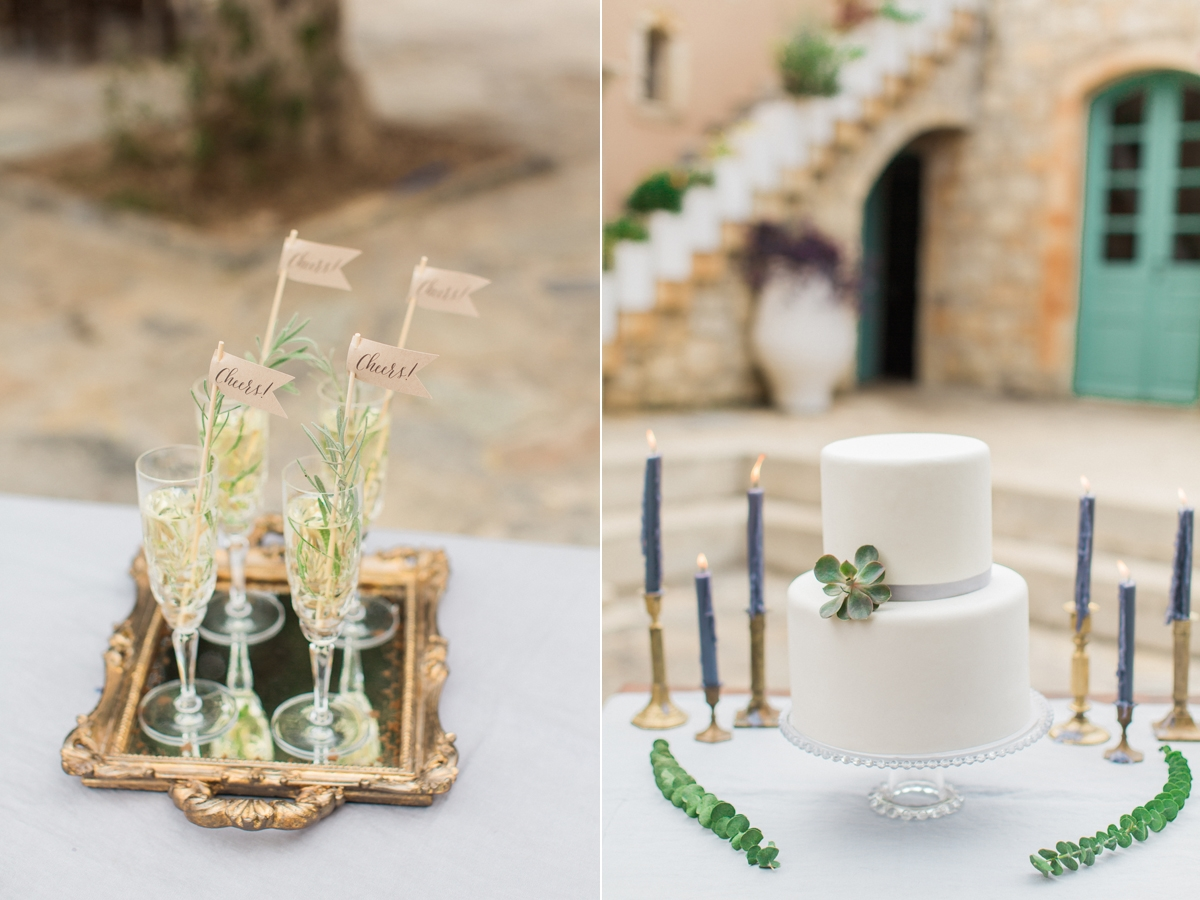 Romantic rustic olive themed wedding in Crete | The Wedding Tales