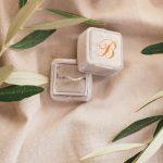 Μονόπετρο δαχτυλίδι με μικρά διαμαντάκια
