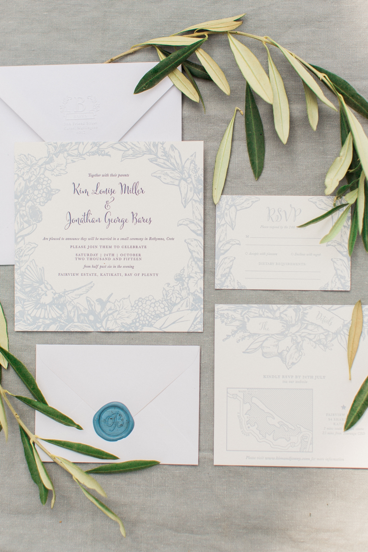 Ideas for rustic romantic wedding invitations