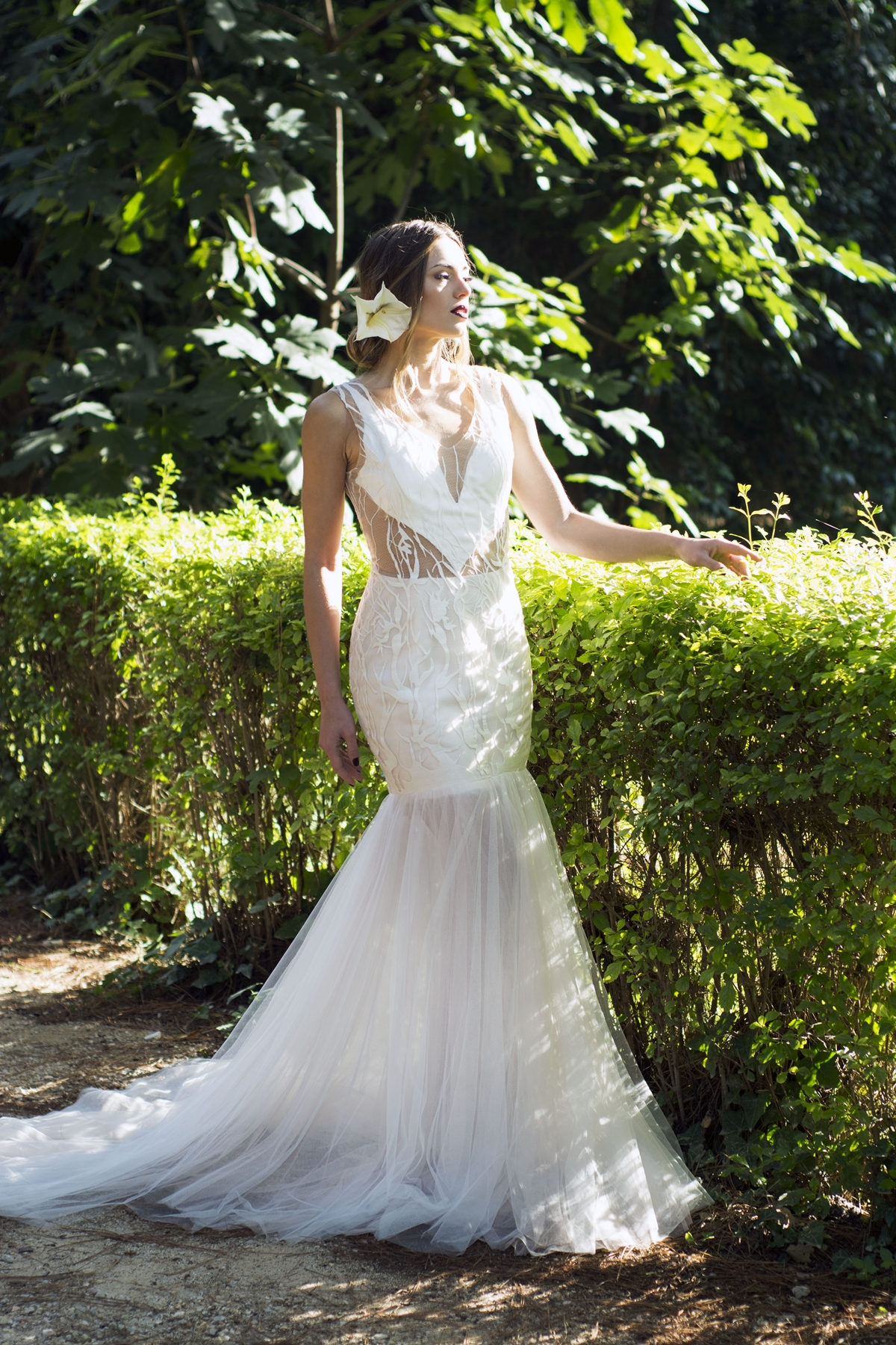 Bridal fashion shoot with lewaa haute couture wedding for Haute couture wedding dresses