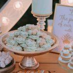 Ιδέες για γλυκά γάμου στο χρώμα της μέντας