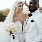 Stunning glam wedding in Athens Riviera