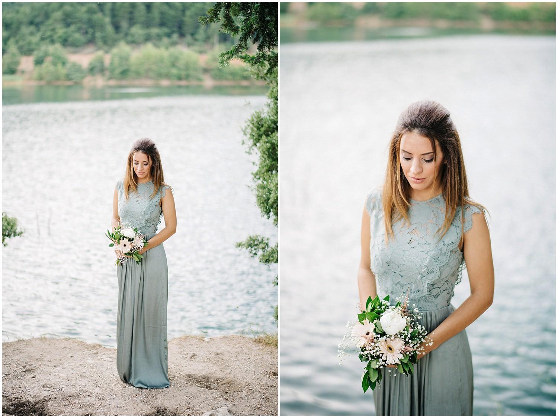 Pre wedding φωτογράφιση στη λίμνη Δόξα
