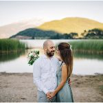 Engagement session at Lake Doksa