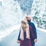 Engagement session στα χιόνια στο Μόναχο