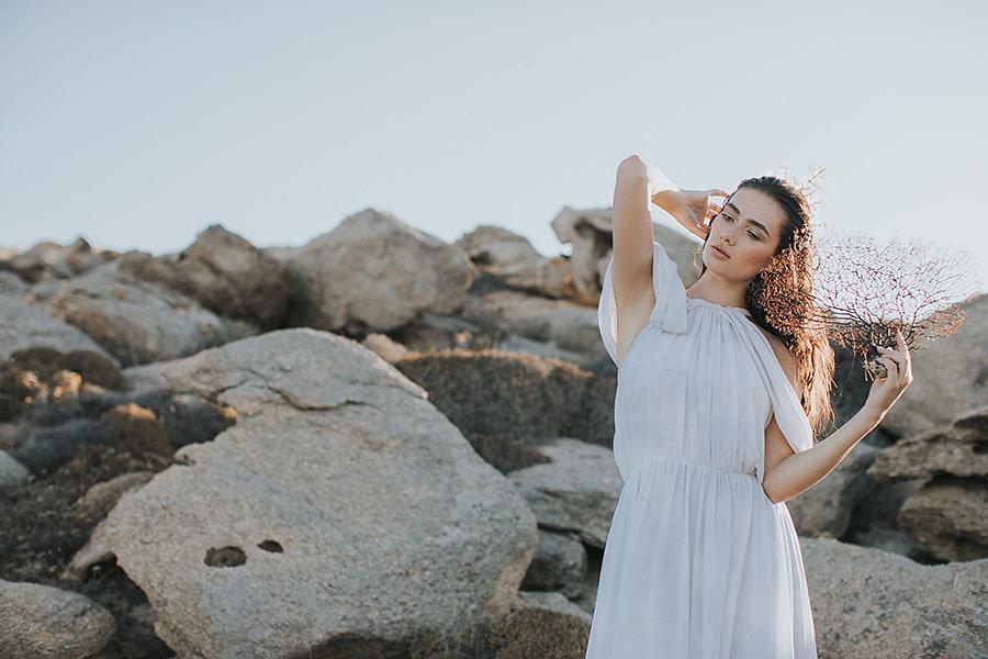 Inspirational φωτογράφιση γεμάτη ήλιο στη Μύκονο