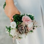 Summer wedding in Aegina with cactus and succulents