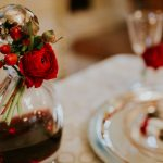 Winter red wedding at Elaion Loft