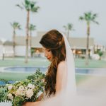 Romantic wedding in Athens with succulents and ivy