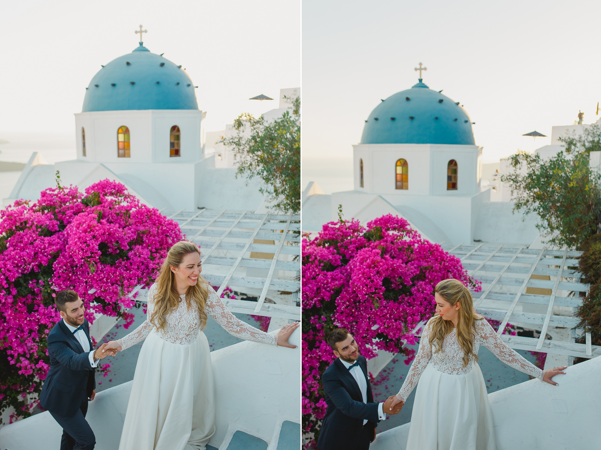 A wonderful next day session in Santorini