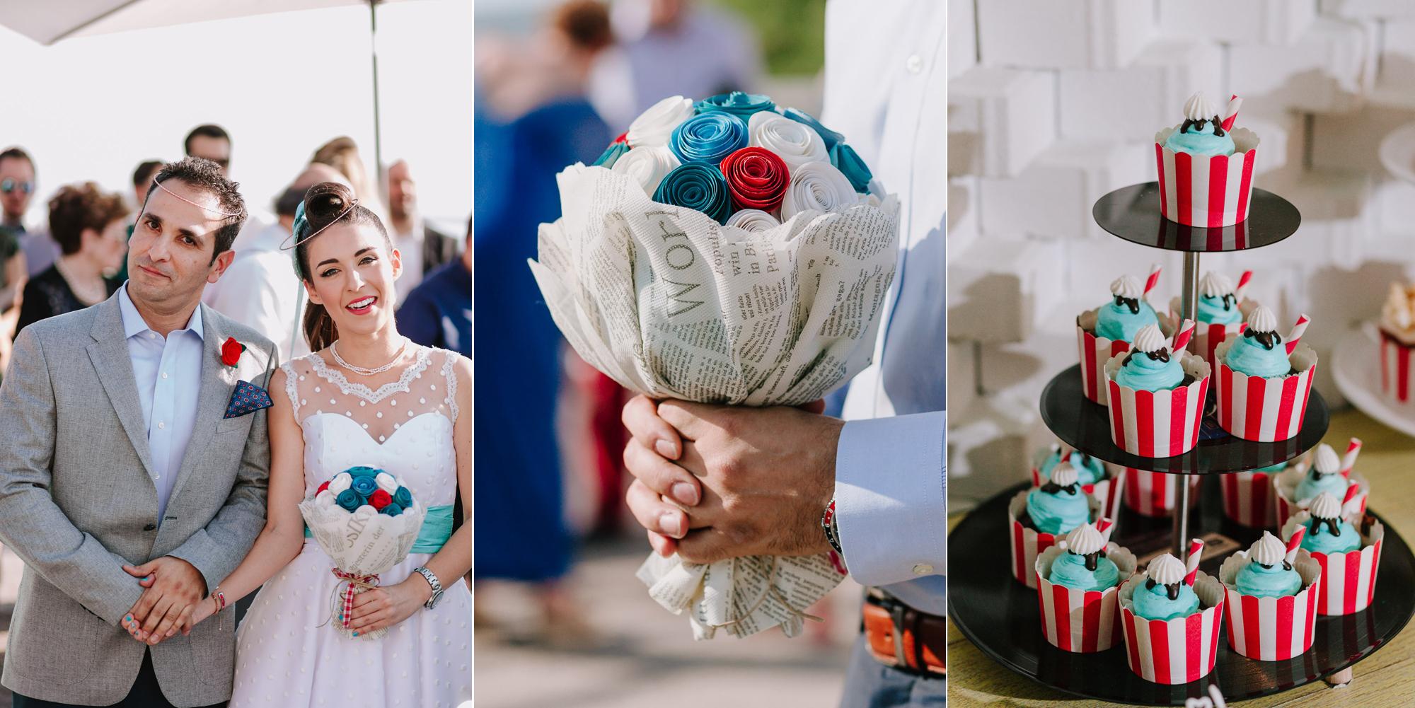 Retro vintage γάμος στην Αθήνα